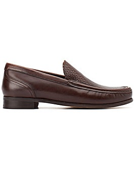 Base London Corin Washed Slip On Shoe