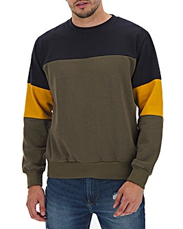 Crew Neck Sweatshirt Long
