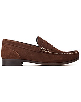 Base London Cassio Suede Slip On Loafer