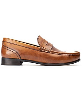 Base London Cassio Washed Slip On Shoe
