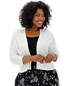 Ivory Knitted Shrug