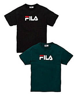 Fila Eagle Pack of Two T-Shirts