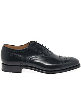 Loake 201B Mens Standard Fit Semi Brogue