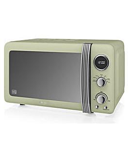 Swan 800W Standard Microwave SM22030GN