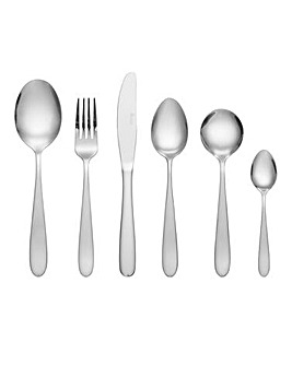 Swan Lokom 48 Piece Cutlery Set Stainless Steel