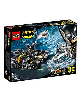 LEGO Batman Mr Freeze Batcycle Battle