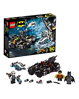LEGO Batman Mr Freeze Batcycle Battle