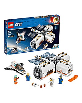 LEGO City Space Port Lunar Space Station