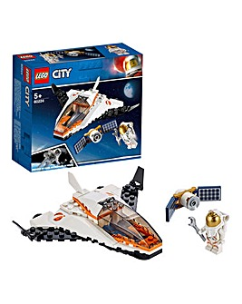 LEGO City Space Port Satellite Mission