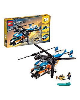 LEGO Creator 3in1 Twin-Rotor Helicopter