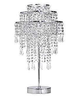 Beaded Sparkle Table Lamp