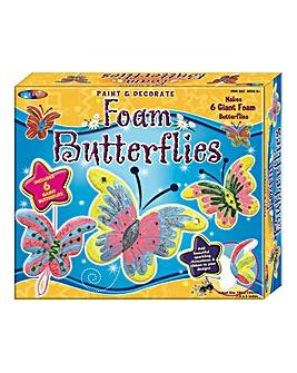 Paint & Decorate Foam Butterflies