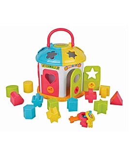 Carry Along Shape Sorter House
