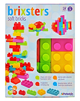 Brixsters Soft Building Bricks 28pcs
