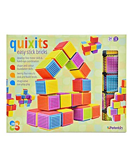 Quixits Easy Stick Building Bricks