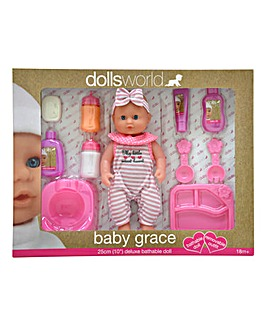 Dolls World Baby Grace Set