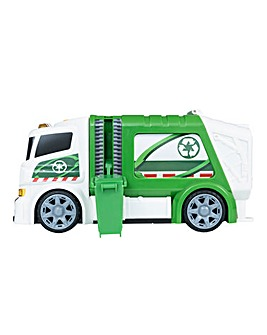 Teamsterz Mighty Moverz Garbage Truck
