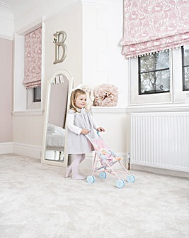 BabyBoo Doll and Pram Set