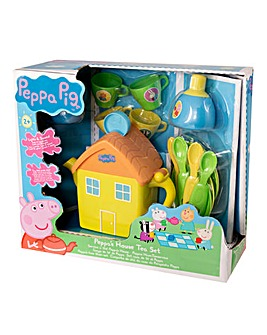 Peppa Pig Lights & Sounds House Tea Set
