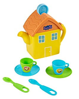 Peppa Pig Lights and Sounds House Tea Set