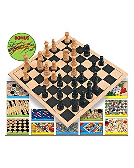 12 Game Super Set + Pick Up Sticks