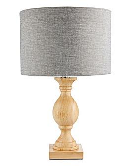 Windsor Oak Table Lamp