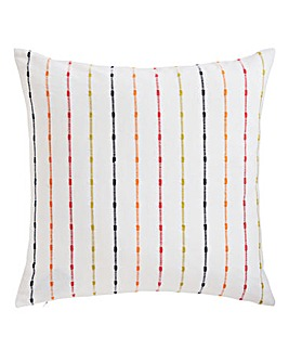 Rainbow Stripe Cushion