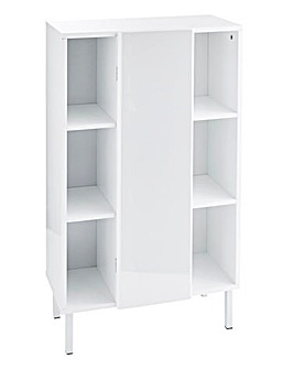Dahlia High Gloss Storage Unit