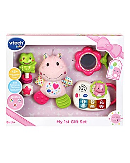 Vtech Baby New Born Gift Set pink