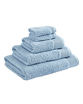 Egyptian Cotton Towel Range Powder Blue
