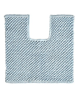 Cotton Bobble Bath Mat Powder Blue