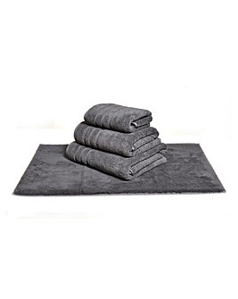 Hotel Collection Towel Range- Charcoal