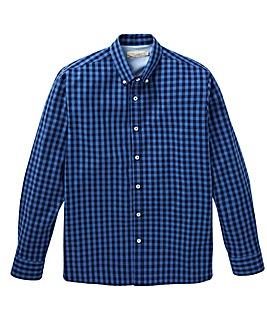 W&B Navy Check Shirt R