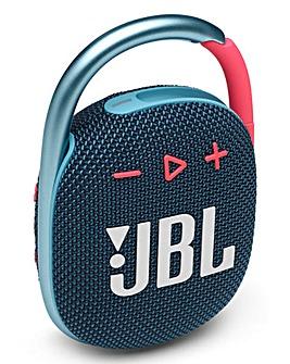 JBL Clip 4 Speaker - Blue/Pink