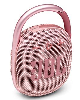 JBL Clip 4 Speaker - Pink