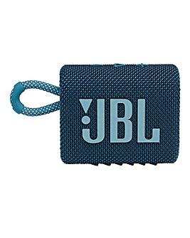 JBL Go 3 Speaker - Blue