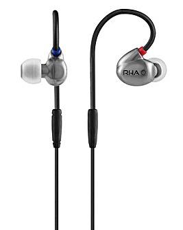 RHA T20 HiFi Noise Isolating Monitors