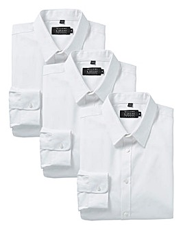 Pack of 3 Long Sleeve Formal Shirts Long