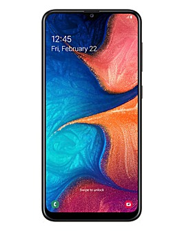 Samsung Galaxy A20 Black
