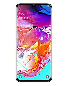 Samsung Galaxy A70 Orange
