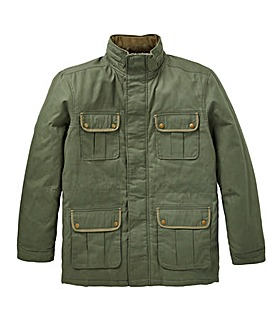 W&B Khaki Cotton Jacket Regular