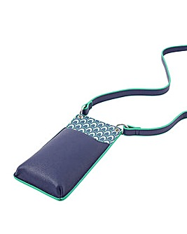 Accessorize Geo Print Phone Wallet