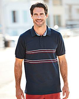 W&B Navy Polo Shirt R