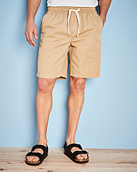 W&B Stone Elasticated Shorts