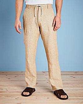 W&B Stone Linen Trousers
