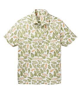 W&B Print Short Sleeve Shirt Regular