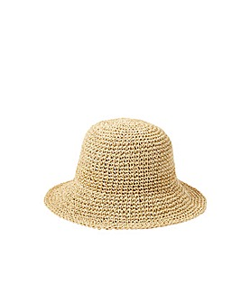Accessorize SALLY STRAW BUCKET