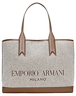 Emporio Armani Frida Cotton Shopper Bag