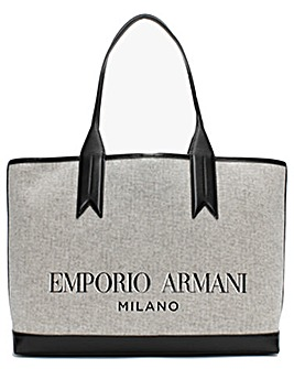 Emporio Armani Frida Cotton Shopper Bag