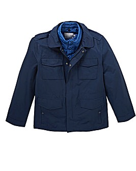 W&B Navy 3 in 1 Jacket Regular